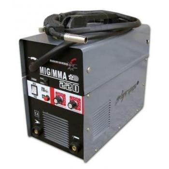 Инверторный сварочный полуавтомат Луч Профи MIG 220 (MIG+MMA) редуктор в комплекте